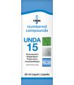 UNDA 15 Homeopathic Remedy